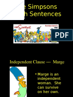 Complex Compound Sentences W-simpsons