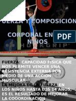 Fuerza, Resistencia y Composición Corporal en los niños