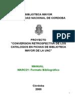 MARC21 - Formato bibliográfico