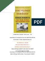 Disciplines of Doership ~ Joe Schroeder ~