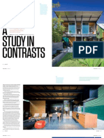 Sanctuary magazine issue 11 - A Study in Contrasts - Spring Hill, Brisbane green home profile