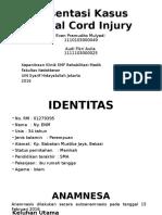 Presentasi Kasus Spinal Cord Injury