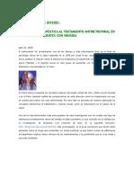 Adherencia Terapéutica Al Tratamiento Antiretroviral Vih Sida