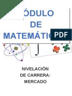 Libro de Matematicas Para Trabajo Nivelacion de Carrera