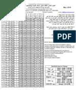 2010.05 - Masjid Hazrat Abubakr Prayer Schedule (11354)