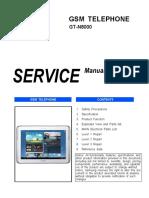 Samsung Gt-n8000 Service Manual r1.0