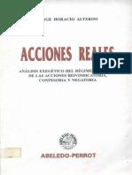 Acciones Reales - Jorge Horacio Alterini-FreeLibros