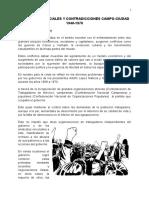 Movimientos Sociales Y Contradicciones Campo-Ciudad