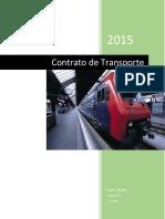 Resumen contrato de Transporte
