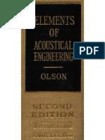 Acoustical Engineering de Harry Olson