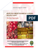Investasi Pabrik Minyak Goreng