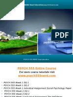 PSYCH 555 NERD Real Education/psych555nerd.com