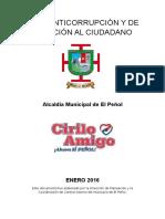 Plan Anticorrupción y de Atención Al Ciudadano