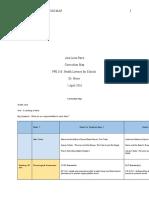 ppe 310- curriculum map