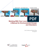 Working With Your Local Government - A Manual for Local Groups and Volunteers