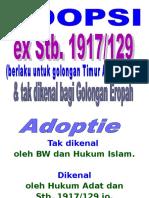 Adopsi Final (Pertemuan I & II) hukum adopsi
