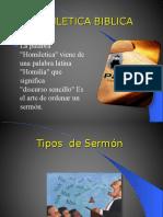 Homilética Básica - Tipos de Predicación - Contenido de La Predicación
