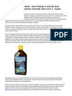 Sistem kekebalan tubuh - akan Omega-3 minyak ikan membantu The kekebalan Systemh oleh Larry L. Taylor