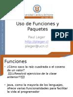 Clase 4 Funciones y Paquetes 1