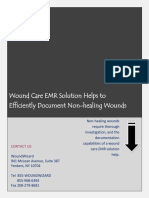 Wound Care EMR Solution Helps to Efficiently Document Non-healing Wounds