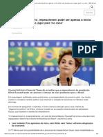 Para 'Financial Times', Impeachment Pode Ser Apenas o Início de Mais Problemas e Jogar País 'No Caos' - BBC Brasil