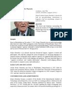 Abraham Noam Chomsky