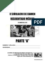 Tema a 2Tema a 2do SimulacroResidentadodo SimulacroResidentadoMedico2015 1deMarzo