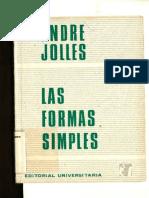 Las Formas Simples Jolles Andre