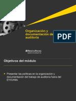 Organizaci n y Documentaci n Del Trabajo de Auditor a EY