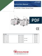 Vacuum Pump e2m0.7 to e2m1.5 Manual