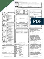 Paladin Character Sheet