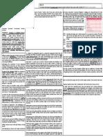 International finance Cheatsheet
