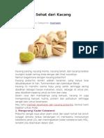 9 Manfaat Sehat Dari Kacang Pistachio