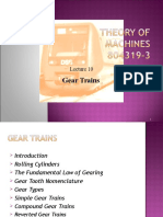 Gear Trains.lecture 10