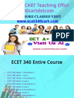 ECET 340 CART Teaching Effectively ecet340cartdotcom