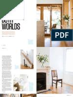 Sanctuary magazine issue 11 - Best of Both Worlds - Glebe, Sydney green home profile