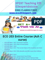 ECO 203 EXPERT Teaching Effectively eco203expertdotcom