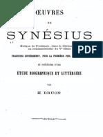 Synesius oeuvres
