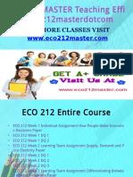 ECO 212 MASTER Teaching Effectively eco212masterdotcom