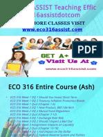 ECO 316 ASSIST Teaching Effectively eco316assistdotcom
