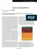 Using seismic waves to image Earth's internal structure