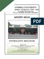 AUCET 2016 Brochure