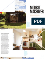 Sanctuary magazine issue 11 - Modest Makeover - Preston, Melbourne green home profile