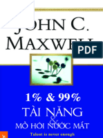 1 % & 99% Tai Nang & Mo Hoi Nuo - John c.maxwell