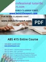 BEH 225 Professional Tutor Bcom230mart.com