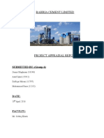 Bahria Cement Limited Final Report Final (2)
