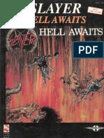 SLAYER Hell Awwaits Guitartab