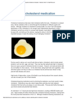 A Guide to Cholesterol Medication - National Center for Health Research