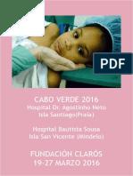 Viaje Humanitario Cabo Verde 2016