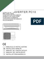 Manual Ferroli PC10